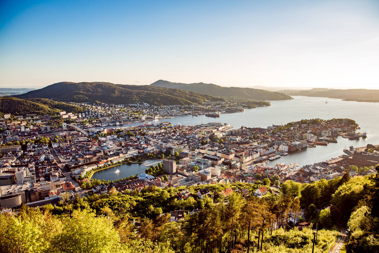 Oversiktsbilde Bergen - JM Norge