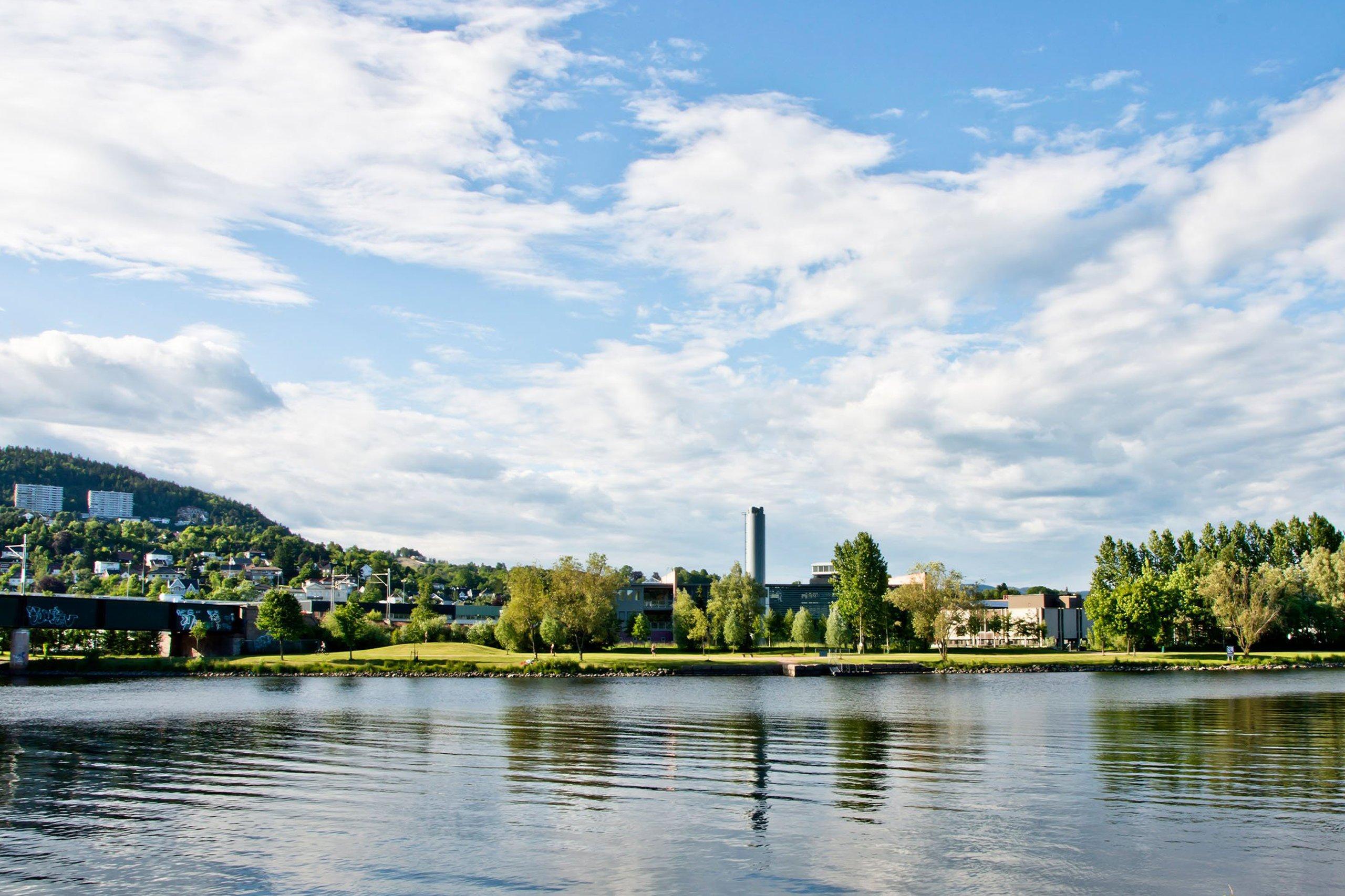 Oversiktsbilde Drammen - JM Norge