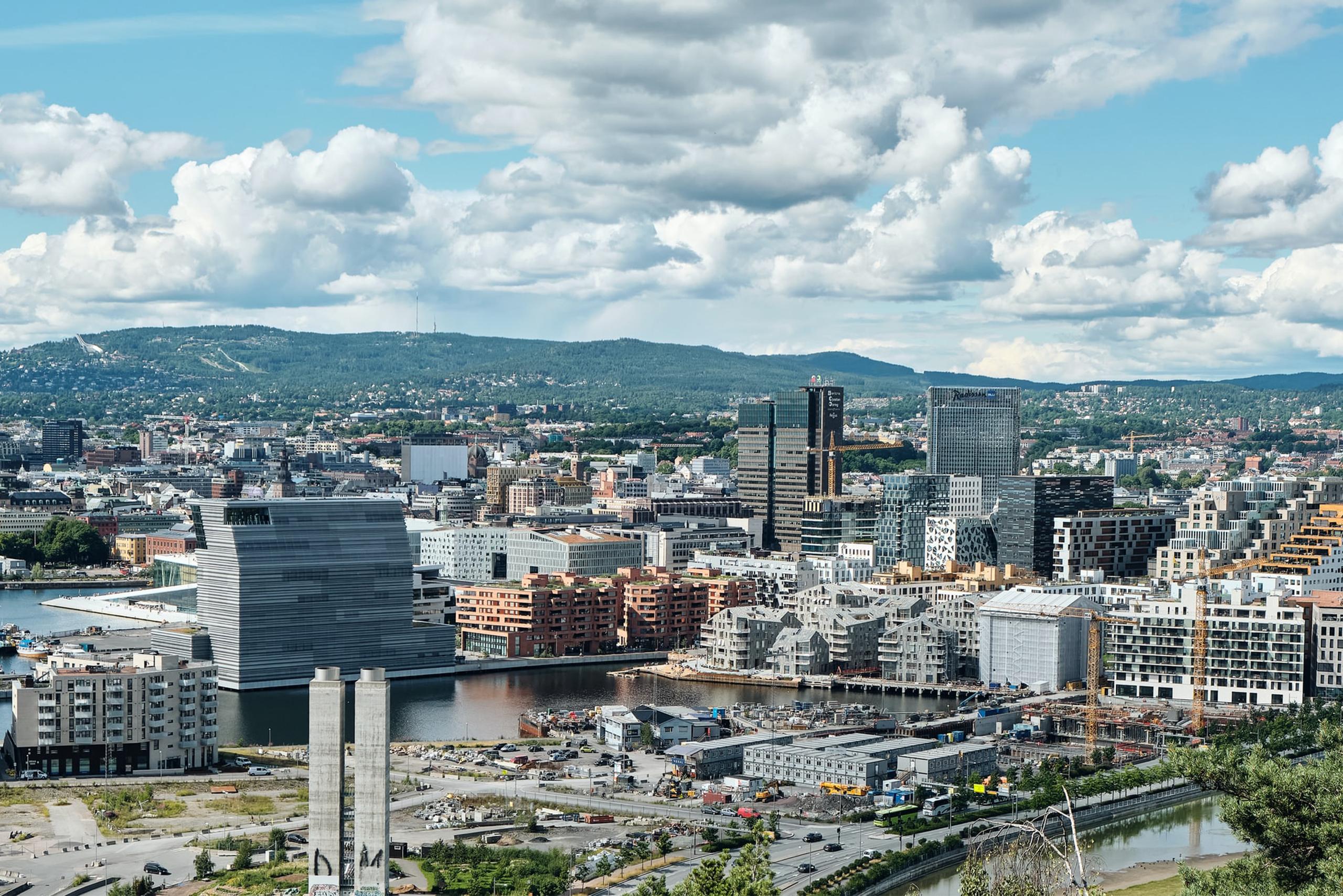 Oversiktsbilde Oslo - JM Norge